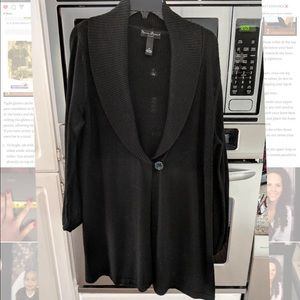 Mercer & Madison black cardigan sweater 2x